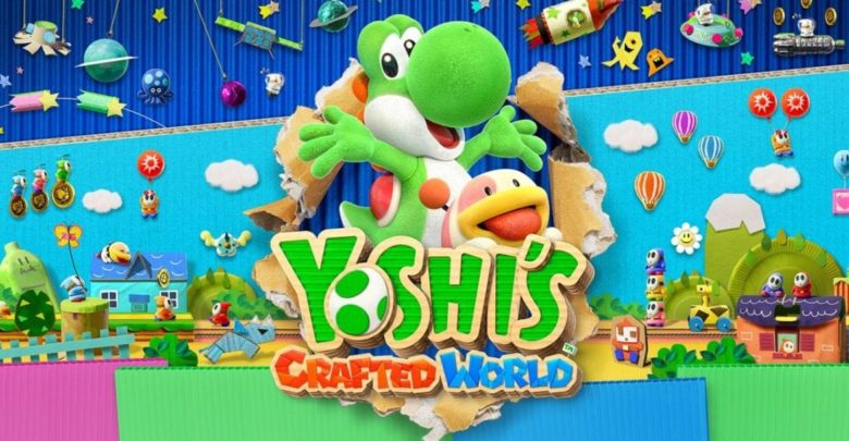 Yoshi Nintendo Switch Crafted World