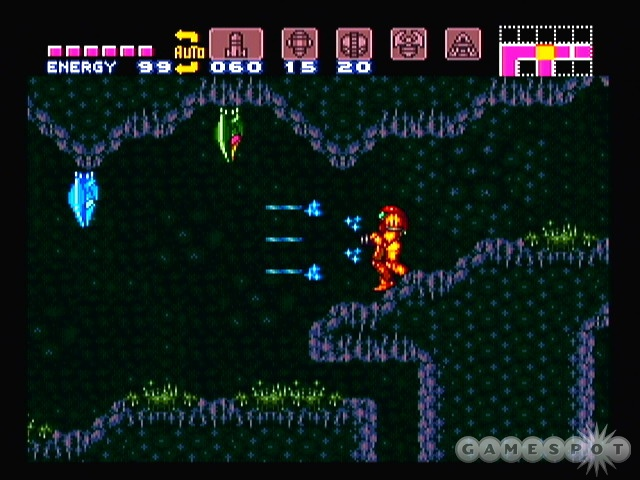 Ecran Super Metroid