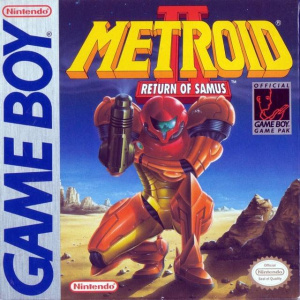 Metroid 2 Nintendo Gameboy
