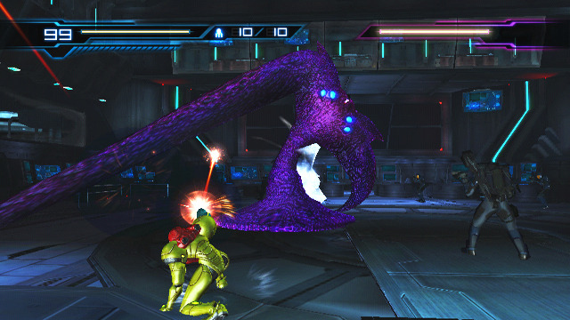 Metroid Other M Ecran