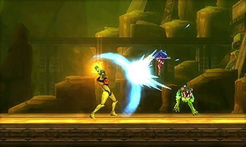 Metroid Samus Returns Ecran