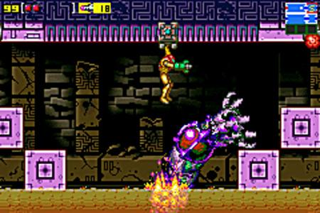 Metroid Zero Mission Langue