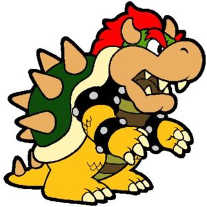 Bowser Mechant Super Mario Bros