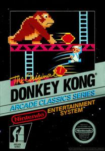 Nintendo Donkey Kong Nes 1981