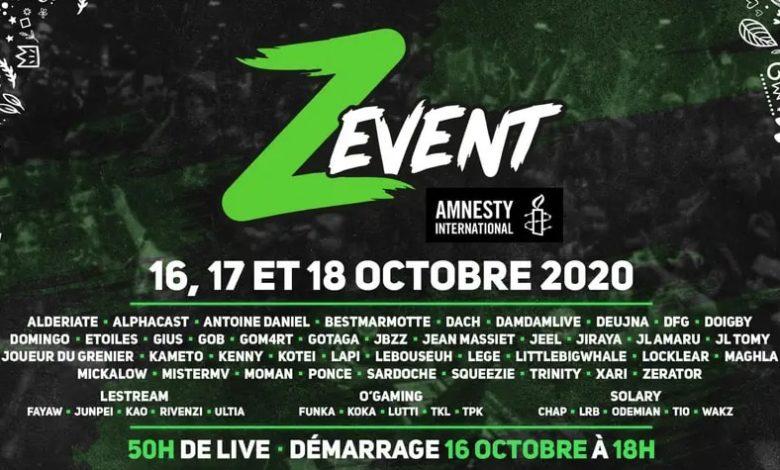 Zevent 2020 Zerator Amnesty International