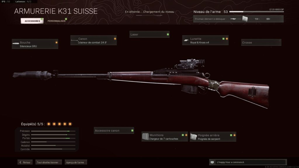 Meilleur Accessoires K31 Suisse Warzone