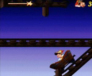 Pinocchio Super Nintendo Niveau 5 Snes