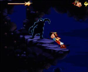 Pinocchio Super Nintendo Niveau 6 Snes