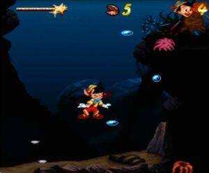 Pinocchio Super Nintendo Niveau 7 Snes